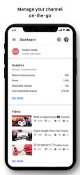 Captura de Pantalla 2 de YouTube Studio para iphone