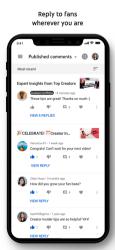 Screenshot 5 de YouTube Studio para iphone