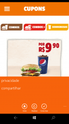 Captura de Pantalla 6 de Burger King Cupons para windows