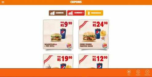 Captura 2 de Burger King Cupons para windows