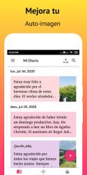 Screenshot 2 de Gratitude - Diario, Zen Diario y Afirmaciones para android