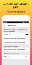 Captura de Pantalla 7 de Gratitude - Diario, Zen Diario y Afirmaciones para android