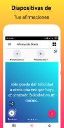 Screenshot 9 de Gratitude - Diario, Zen Diario y Afirmaciones para android