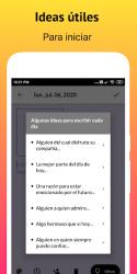 Screenshot 6 de Gratitude - Diario, Zen Diario y Afirmaciones para android