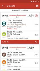 Screenshot 4 de Timetable South Tyrol para android