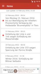 Captura de Pantalla 7 de Timetable South Tyrol para android