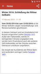 Captura de Pantalla 8 de Timetable South Tyrol para android