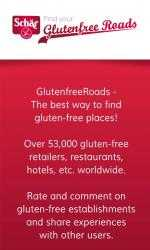 Captura de Pantalla 1 de GlutenfreeRoads para windows