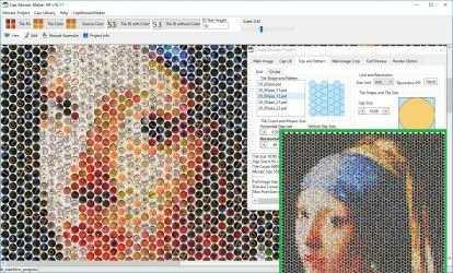 Screenshot 2 de Cap Mosaic Maker para windows