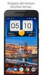 Captura 10 de Sense flip clock & weather para android