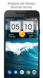Imágen 2 de Sense flip clock & weather para android