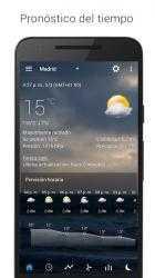 Captura de Pantalla 3 de Sense flip clock & weather para android