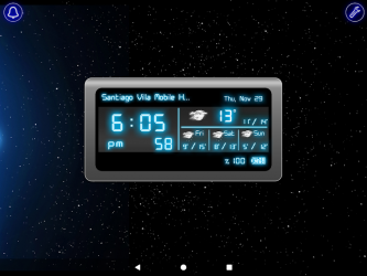 Captura de Pantalla 12 de Reloj Digital para android