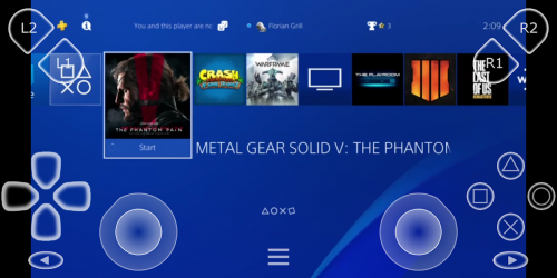 Captura 2 de PSPlay: Ilimitado PS4 Remote Play para android