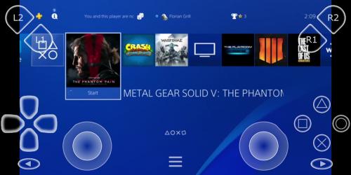 Captura de Pantalla 2 de PSPlay: Ilimitado PS4 Remote Play para android