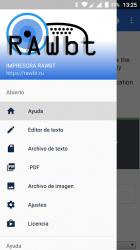 Captura 4 de RawBT ESC/POS Controlador de impresora térmica para android