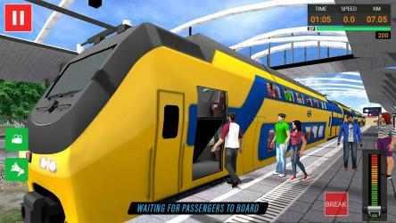 Screenshot 13 de Euro Tren Simulador Gratis 2021 - Train Driving para android
