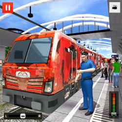 Captura de Pantalla 1 de Euro Tren Simulador Gratis 2021 - Train Driving para android
