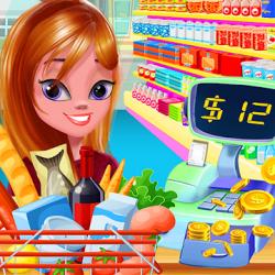 Screenshot 1 de Niña Supermercado Compras Centro comercial para android