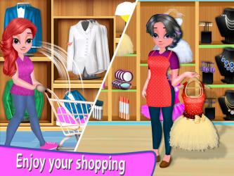 Captura de Pantalla 5 de Niña Supermercado Compras Centro comercial para android
