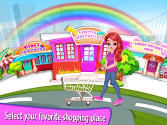 Captura de Pantalla 6 de Niña Supermercado Compras Centro comercial para android