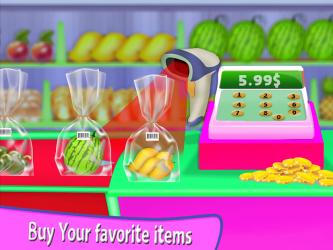 Captura de Pantalla 9 de Niña Supermercado Compras Centro comercial para android
