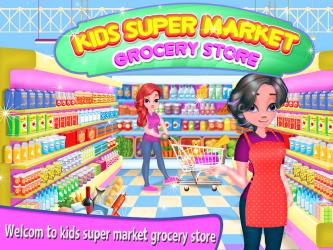 Captura 2 de Niña Supermercado Compras Centro comercial para android