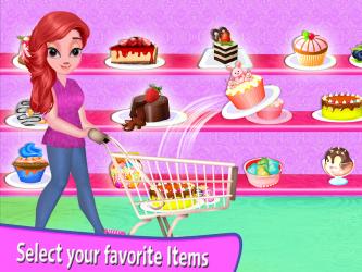 Captura 13 de Niña Supermercado Compras Centro comercial para android