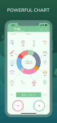 Captura 1 de Monefy: Control de gastos para iphone