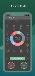 Captura de Pantalla 3 de Monefy: Control de gastos para iphone