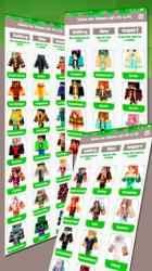 Captura de Pantalla 3 de Skins para Minecraft PE & PC - Skins Gratis para iphone