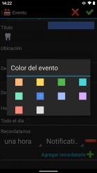 Screenshot 5 de Calendario 2021 para android