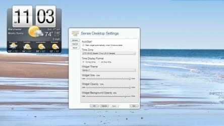 Captura de Pantalla 1 de Sense Desktop para windows