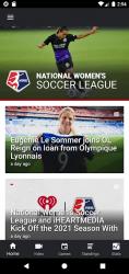 Screenshot 2 de National Women's Soccer League para android