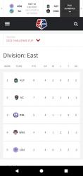 Screenshot 6 de National Women's Soccer League para android