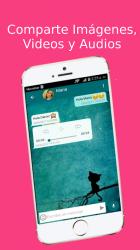 Captura de Pantalla 10 de Schateen - Chat & Conocer Personas Nuevas para android