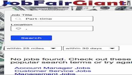 Screenshot 2 de JobFairGiant para windows