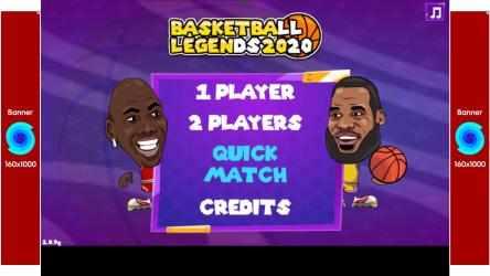 Captura de Pantalla 2 de Basketball Legends 2020 para windows