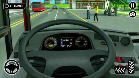 Screenshot 4 de Simulador de Autobús 21: Conducción por la Ciudad para android