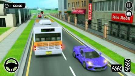 Screenshot 5 de Simulador de Autobús 21: Conducción por la Ciudad para android
