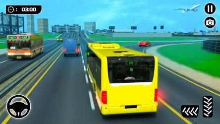 Screenshot 2 de Simulador de Autobús 21: Conducción por la Ciudad para android