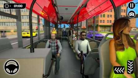 Screenshot 3 de Simulador de Autobús 21: Conducción por la Ciudad para android