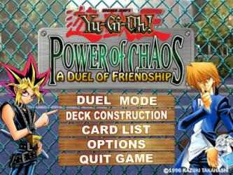Captura de Pantalla 2 de Yu-Gi-Oh! - Power of Chaos para windows