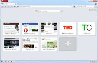 Screenshot 2 de Opera para windows