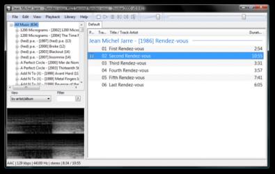 Captura de Pantalla 2 de Foobar 2000 para windows
