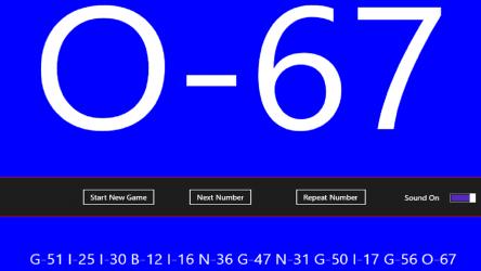 Imágen 1 de Bingo Announcer para windows