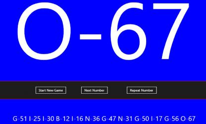Screenshot 2 de Bingo Announcer para windows