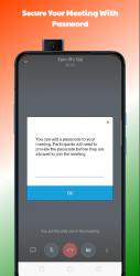 Captura de Pantalla 4 de Deevs Meet | Indian Video Conferencing App para android