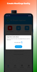 Captura de Pantalla 3 de Deevs Meet | Indian Video Conferencing App para android