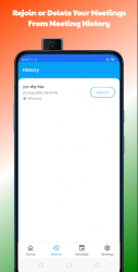 Captura de Pantalla 7 de Deevs Meet | Indian Video Conferencing App para android